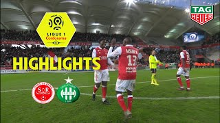 Stade de Reims - AS Saint-Etienne ( 3-1 ) - Highlights - (REIMS - ASSE) / 2019-20