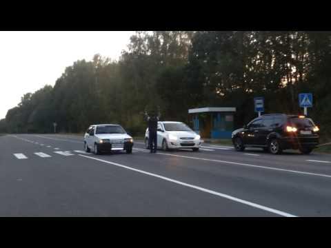 Hyundai Solaris 2014 vs VAZ 2108 1988