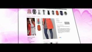 Презентация проекта: интернет магазин Кира Пластинина(Презентационный видео ролик о созданном интернет-магазине ТМ