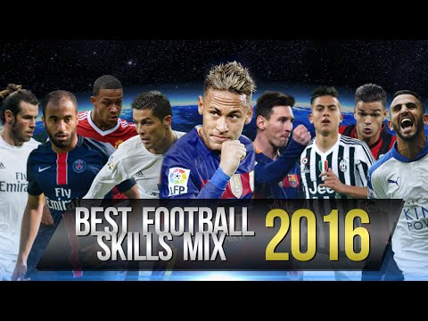Video: Best Football Skills Mix 2016 ? Neymar ? Ronaldo ? Messi ? Dybala ? Mahrez ?Lucas & More HD