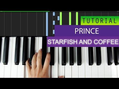 Prince - Starfish And Coffee - PIANO TUTORIAL - HOW TO PLAY