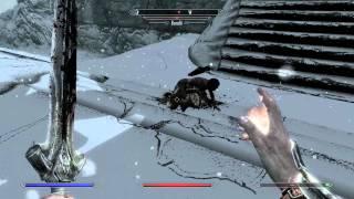Skyrim gameplay test 60fps