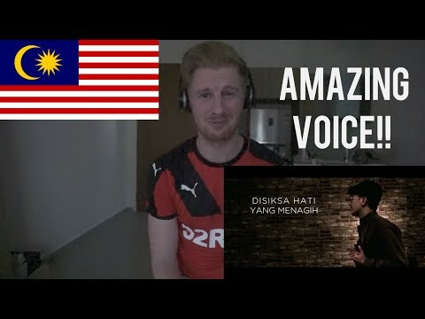 Haqiem Rusli - Tergantung Sepi (Official Lyric Video) // MALAYSIAN MUSIC REACTION