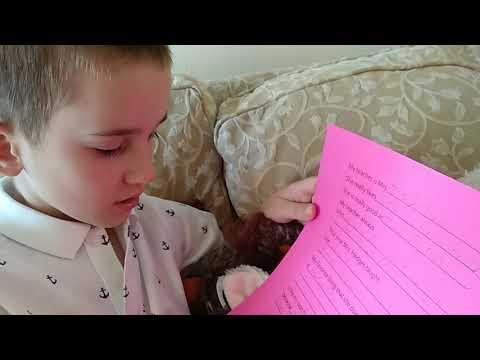 Арсен, аутизм, 7 лет, письмо учительнице😉