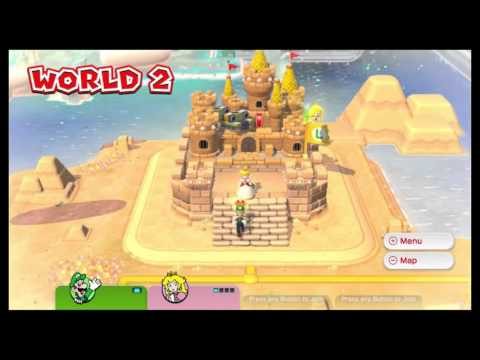 "avagamer05 Plays Super Mario 3D World with my Dad ""POPs"""