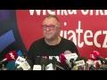 Konferencja Prasowa Jurka Owsiaka I Fundacji WOŚP | OnetNews