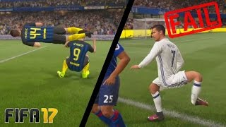 Самые смешные моменты В FIFA 17 (ПРИКОЛЫ) + Красивые голы