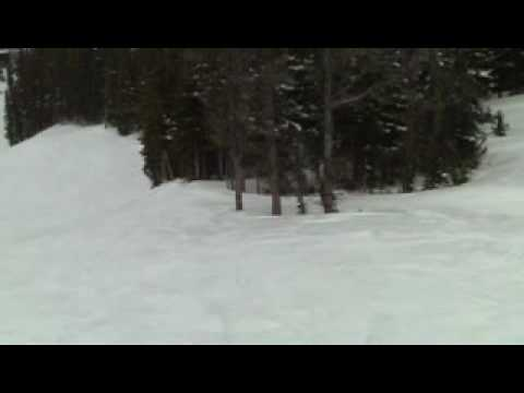 andrew robins funny ski accident