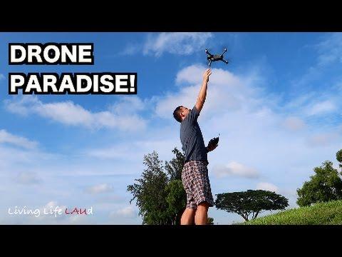 DRONE PARADISE! (SINGAPORE) | DJI MAVIC PRO