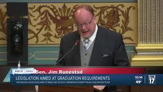 Sen. Runestad joins WXMI to discuss high school graduations