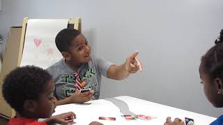 Science Kids play Uno
