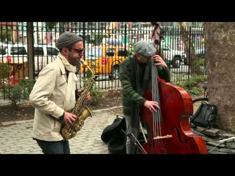 Michael Attias & John Hebert - First Street Green, NYC - Art
