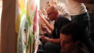 Вечеринка в стиле рисования по номерам(Невероятная Вечеринка Рисования по Номерам (Derek Hibbs). Если Вы также увлечены рисованием картин по номерам..., 2015-12-25T06:01:15.000Z)