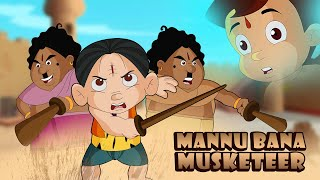 Chhota Bheem - Manu Bana Musketeer | Fun Kids Videos | Cartoon for Kids in Hindi