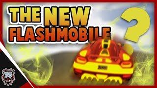 ROBLOX Vehicle Simulator - THE FLASH MOBILE | Flash Car Design (w/BlackSantaHD)