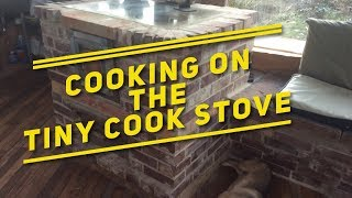 Cooking on the Tiny Cook Stove