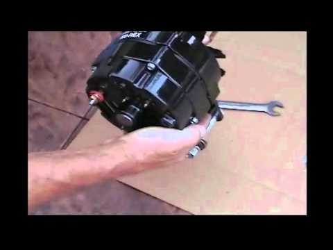 6 Volt Nu Rex Model A Ford Alternator Installation Youtube