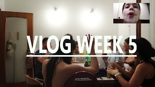 VLOG WEEK 5 - SHORT N SWEET COURSE REUNION FT BUBBLE FACE MASK :))