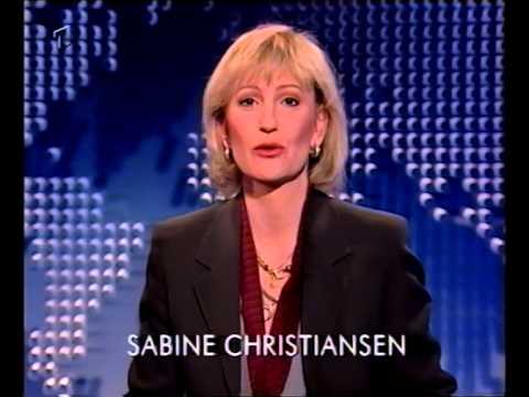 ARD Tagesthemen mit Sabine Christiansen