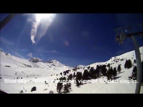 April skiing in Soldeu 06/04/2014