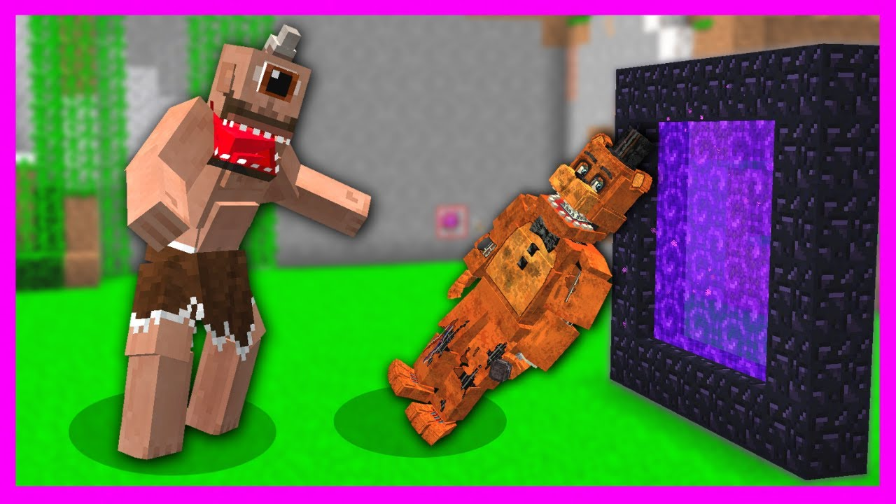 TEPEGÖZ FREDDY'İ NETHER'A YOLLADI! 😱 - Minecraft