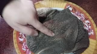 سر تنظيف الكرشه حتى لو كانت فحمه #وعملت الكرشة المطبوخة روعة