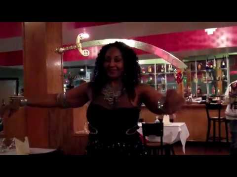 Spirit free performs sword dance at aangan indian for Aangan indian cuisine harrisburg