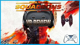 Star Wars Squadrons VR Review - What a View! (Video Game Video Review)