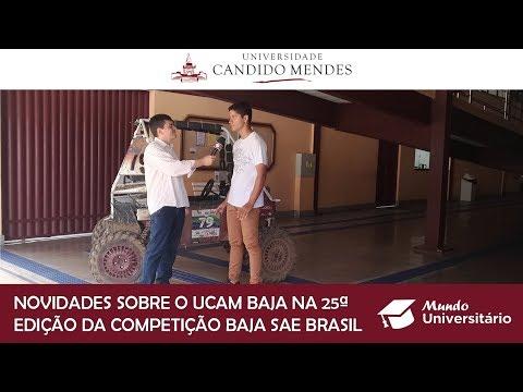 Novidades sobre o UCAM Baja na 25ª edição da competição BAJA SAE Brasil