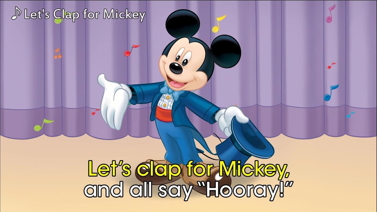 ディズニー 曲 英語