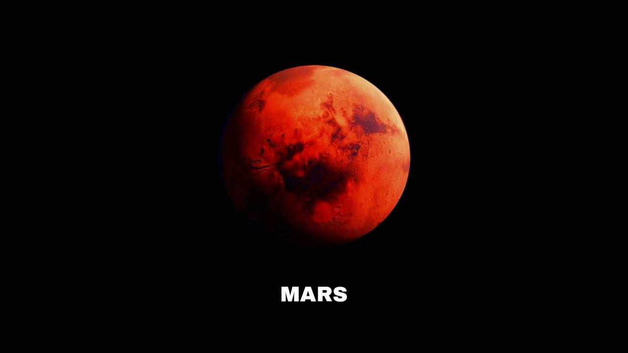 ZOOM PLANET MARS YANG SEDANG MENDEKATI BUMI