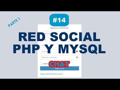 PARTE 14 - [1] CHAT En PHP MYSQL JAVASCRIPT AJAX | RED SOCIAL
