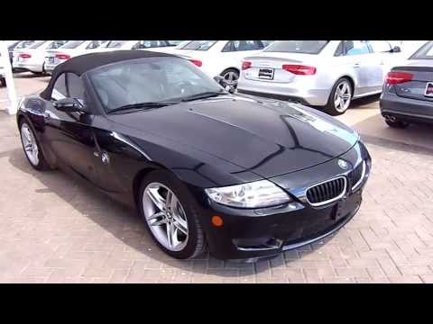 2007 BMW Z4 M Roadster Start Up, Exterior/ Interior Review