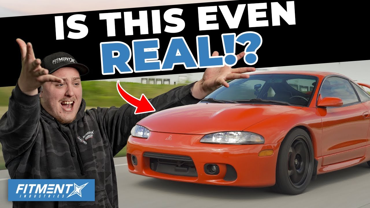The Cleanest 1999 Mitsubishi Eclipse GSX EVER!