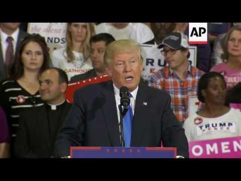 Trump praises China's business practices