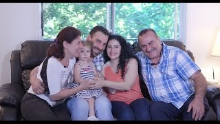 The story of the first Syrian refugee family in Canada.