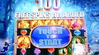 100 SPINS! HUGE MEGA BIG WIN! Mysitical Unicorn WMS Slot Machine