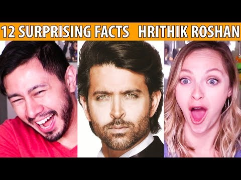 12 SURPRISING FACTS ABOUT HRITHIK ROSHAN | Reaction!