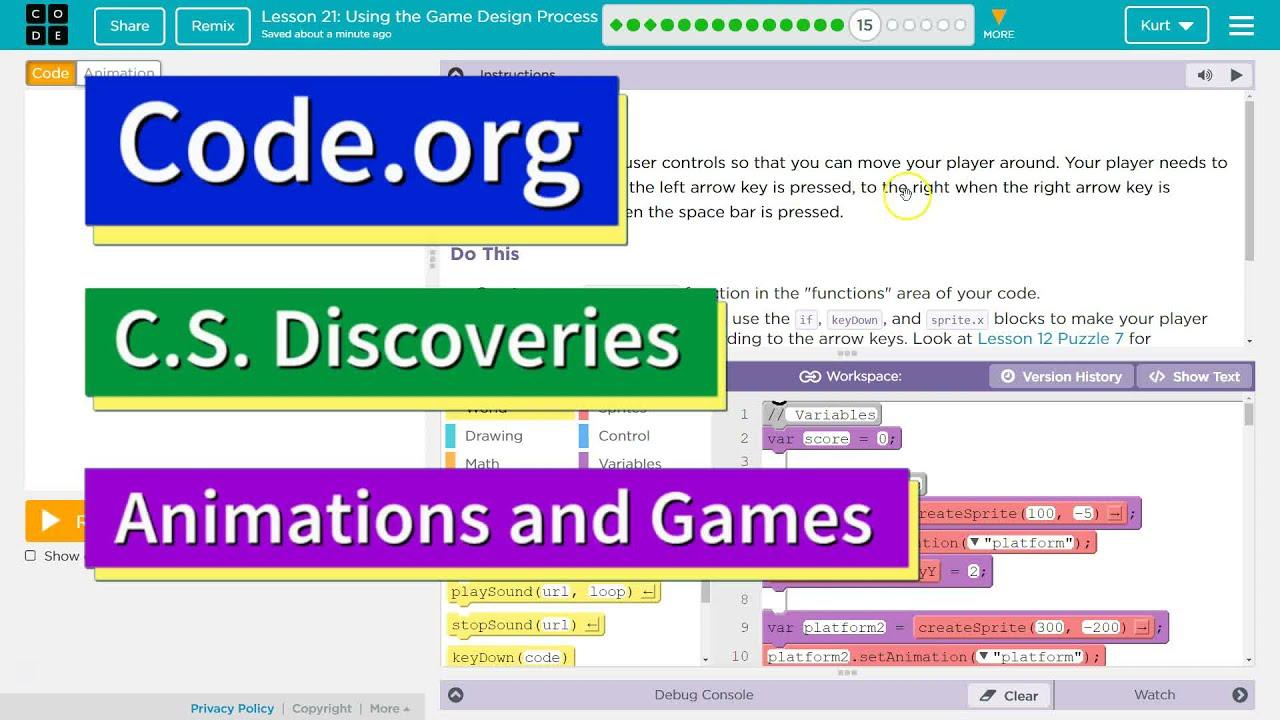 Game Design Code