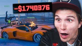 Diese EXPLOSION zerstört mein NEUES 2.000.000($$$) AUTO   GTA ONLINE