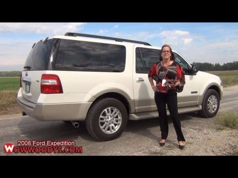 2008 ford expedition review video walkaround used trucks and cars for sale at wowwoodys youtube. Black Bedroom Furniture Sets. Home Design Ideas