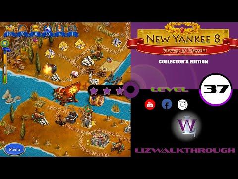 New Yankee 8 - Level 37 Walkthrough (Journey of Odysseus) |