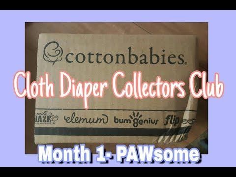 Cottonbabies Cloth Diaper Collectors Club 1st Month!