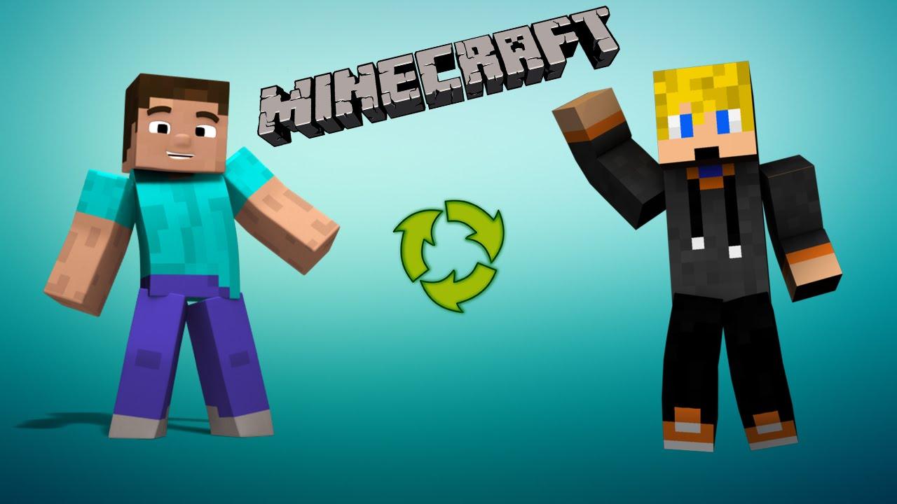 Minecraft (Premium) Skin Yükleme ve Değiştirme!