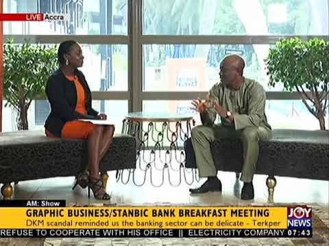 Graphic Business/Stanbic Bank Breakfast Meeting - AM Talk on JoyNews (6-2-18)