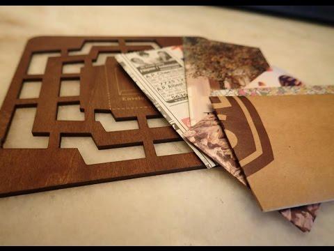Watch me craft - Envelope Template