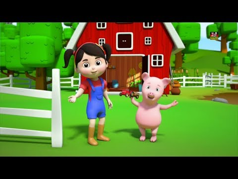 Farben der Farm   Lerne Farben   Kinderzimmer Reime   Farm Song   Kids Rhyme   Colors Of The Farm