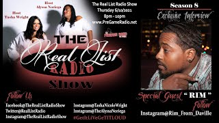 """The Real List Radio Show S8 E12 