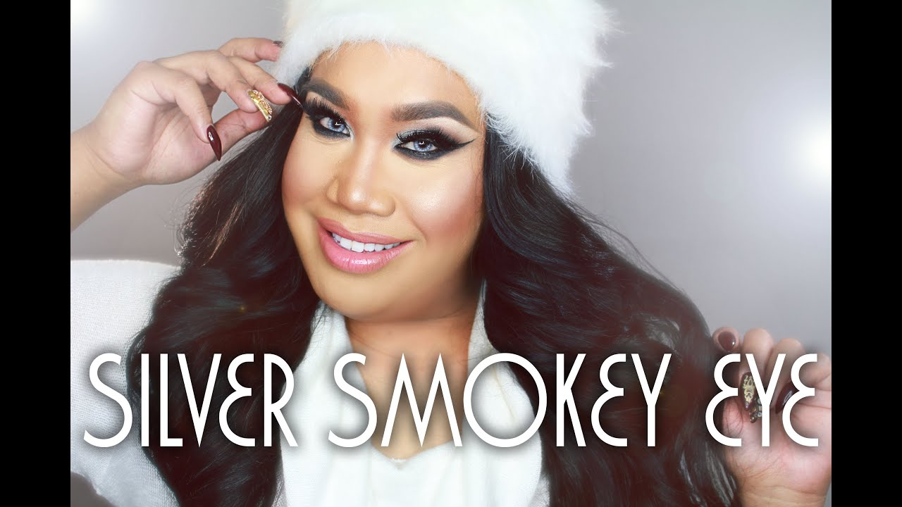 Silver Smokey Eye Tutorial | PatrickStarrr - YouTube