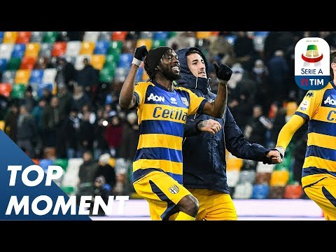 Gervinho Does What Gervinho Does!   Pacy Counter Attack   Udinese 1-2 Parma   Top Moment   Serie A